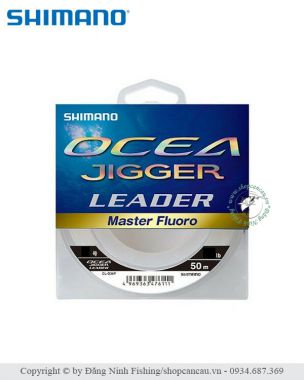 Dây Leader FluoroCarbon Shimano Ocea Jigger Master Fluoro CL-O36P - Made in Japan